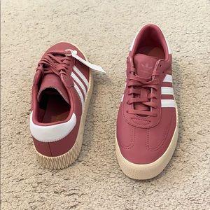 women's adidas tramar color sambarose shoes